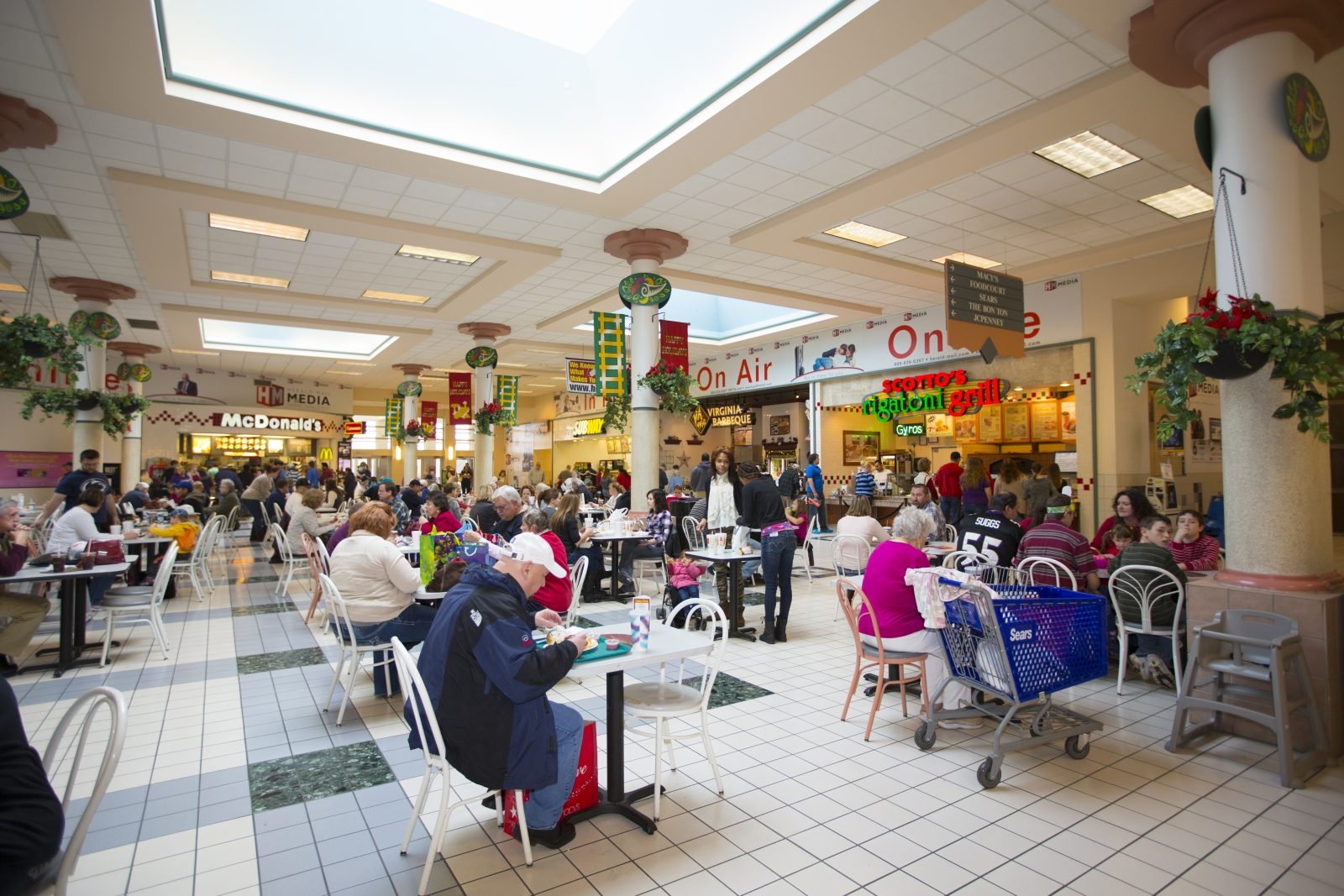 Valley Mall Food Court Hagerstown