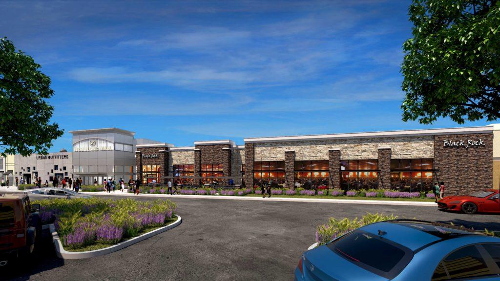 Woodland Mall Rendering